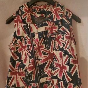 British Flag Vest
